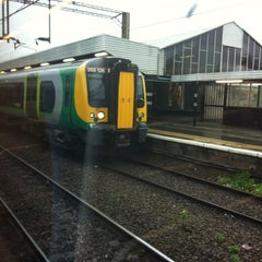 Photo taken at Northampton Railway Station (NMP) by James H. on 5/1/2012