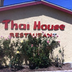 Photo taken at Thai House by Jeffrey S. on 4/2/2012