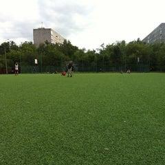 Photo taken at футбол на районе by Kir on 6/24/2012