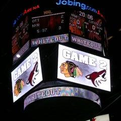Das Foto wurde bei Gila River Arena von BK .. am 4/15/2012 aufgenommen