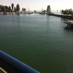 Photo taken at Romanshorn Hafen by Stefan H. on 6/16/2012