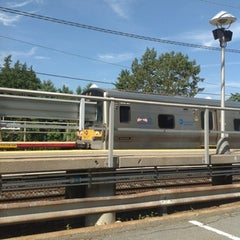 Photo taken at LIRR - Nassau Blvd Station by Andrey V. on 8/6/2012