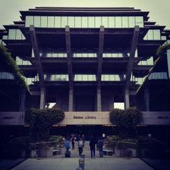 Photo taken at Geisel Library by Luke Robert M. on 5/1/2012