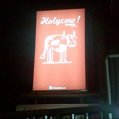 Photo taken at Holycow! Steakhouse by Donny S. on 8/17/2012