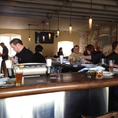 Photo taken at Obed & Isaac's Microbrewery and Eatery by JJ P. on 2/12/2012
