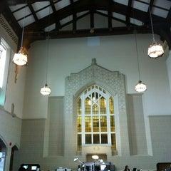 Photo taken at Irving K. Barber Learning Centre by Elizabeth on 8/7/2012