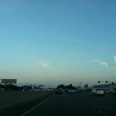 Photo taken at US-101 (Bayshore Fwy) by Andrea K. on 2/4/2012