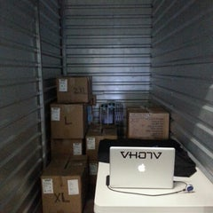 Photo taken at Hawaii Self Storage by VH07V A. on 8/11/2012