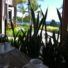 Photo taken at W Café, Vieques Island by Christine C. on 4/27/2012