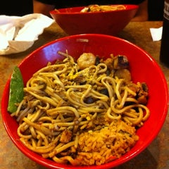 Photo taken at Genghis Grill by Kathy E. on 5/4/2012