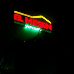 """Photo taken at El Mesón Sandwiches by WILFREDO """"WILO"""" R. on 8/17/2012"""