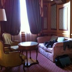 Photo taken at The Westin Palace Milan by Flo on 2/17/2012