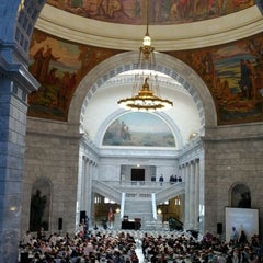 Photo taken at Utah State Capitol Building by Jacob S. on 6/2/2012