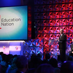 Photo taken at Education Nation by Mike Bloomberg on 2/16/2012