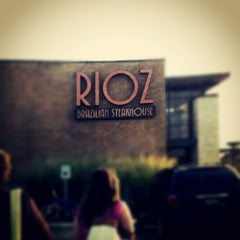 Photo taken at Rioz Brazilian Steakhouse by Tony V. on 7/20/2012