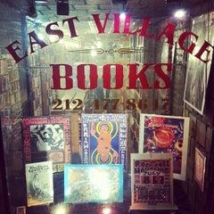 Photo taken at East Village Books by Steve K. on 4/13/2014