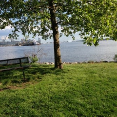 Photo taken at Canton Waterfront Park by Elliott P. on 5/9/2013