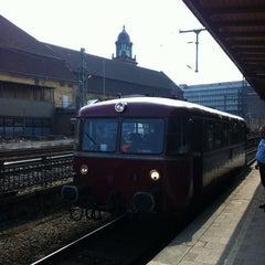 Photo taken at Hagen Hauptbahnhof by Olli V. on 4/7/2013