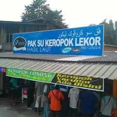 Photo taken at Keropok Lekor Pak Su by Muhamad N. on 5/23/2015
