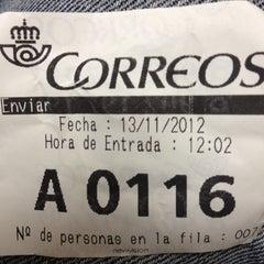 Photo taken at Oficina Correos by Jose ramon F. on 11/13/2012