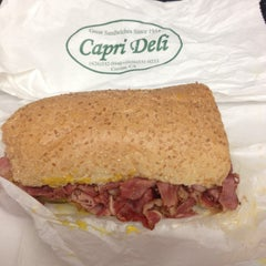 Photo taken at Capri Deli & Kitchen by John S. on 8/27/2014