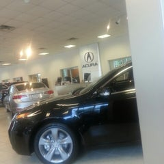 Photo taken at Precision Acura of Princeton by *giggles* on 8/20/2013