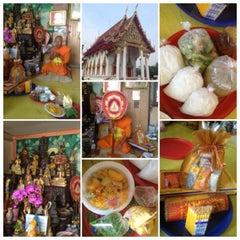 Photo taken at วัดทองใน (Wat Thongnai) by Kununya W. on 2/25/2013