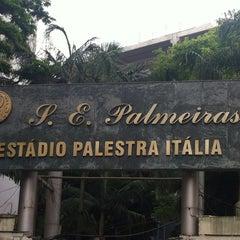 Photo taken at Sociedade Esportiva Palmeiras by Alê M. on 12/11/2012