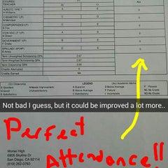 Photo taken at Samuel F. B. Morse High School by Jaime R. on 10/17/2014