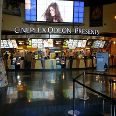 Photo taken at Cineplex Odeon Queensway Cinemas by Joey V. on 3/9/2013