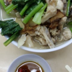 Photo taken at 香港街珍达记 (XO Crab Bee Hoon) by Anny T. on 9/14/2014