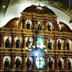 Photo taken at Basilica Minore del Santo Niño by Arcee C. on 2/10/2013