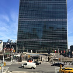 Photo taken at United States Mission to the United Nations by Nadira P. on 3/20/2015