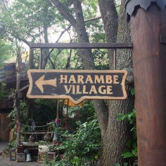 Photo taken at Harambe Village by Connor on 8/29/2013