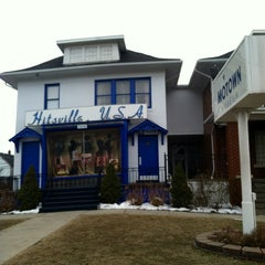 Photo taken at Motown Historical Museum / Hitsville U.S.A. by Jelani on 3/24/2013