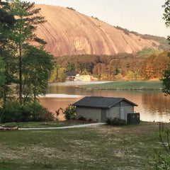 Photo taken at Stone Mountain Park Campground by JP G. on 4/23/2015