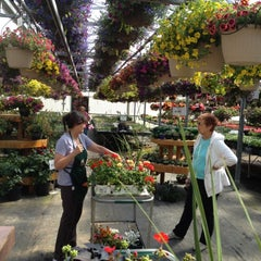 Photo taken at Pine Grove Greenhouse by Kenneth S. on 5/10/2012