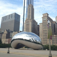 Photo taken at Millennium Park by Mary Kate P. on 9/5/2013
