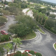 Photo taken at Orlando Marriott Lake Mary by Camila B. on 9/4/2014