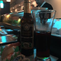 Photo taken at Ikebana Sushi Bar - Escorial by Hector R. on 9/5/2015