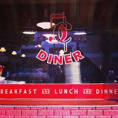 Photo taken at Nickel Diner by Jeremy L. on 1/13/2013