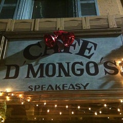 Photo taken at Cafe d'Mongo's by Gerard V. on 12/15/2012