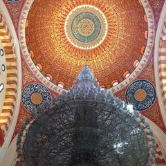 Photo taken at Mohammed Al-Amin Mosque by Ryan E. on 4/6/2015