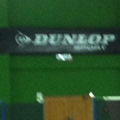 Photo taken at BJGCR Badminton Court by Kim Seng C. on 10/21/2012