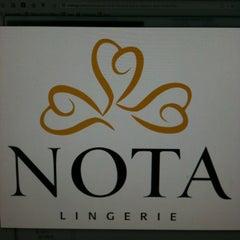 Photo taken at Nota Lingerie by Tasos S. on 3/15/2013