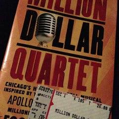 Photo taken at Apollo Theater by Alesha B. on 2/28/2013