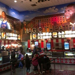 Photo taken at AMC Magic Johnson Harlem 9 by Derek P. on 3/9/2013