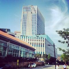 Photo taken at 이마트 본사 (emart HQ) by Douglas H. on 7/6/2014