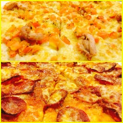 Photo taken at Yellow Cab Pizza Co. by Pola M. on 8/7/2014