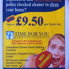 Photo taken at Time For You Domestic Cleaning by Darran S. on 11/3/2012